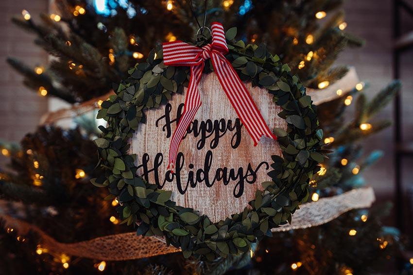 Рождественские венки из чего делают 28