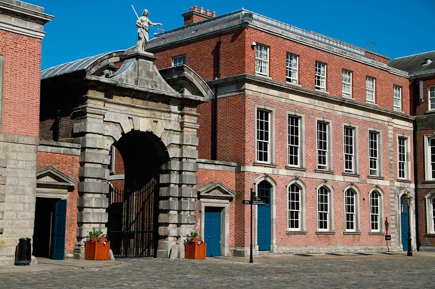 Дублинский замок Ирландия 6