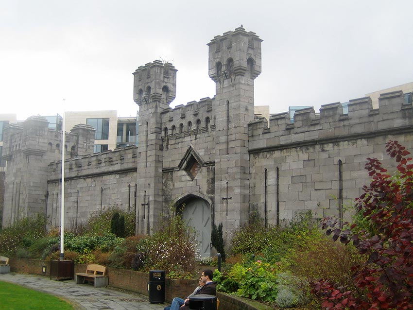 Дублинский замок Ирландия 8