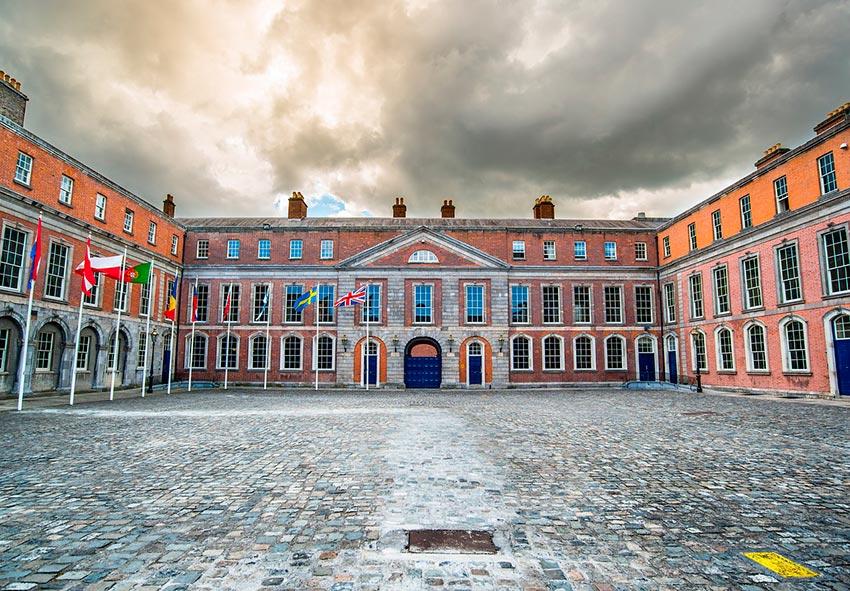 Дублинский замок Ирландия 10