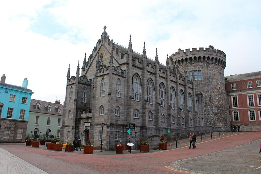 Дублинский замок Ирландия 11