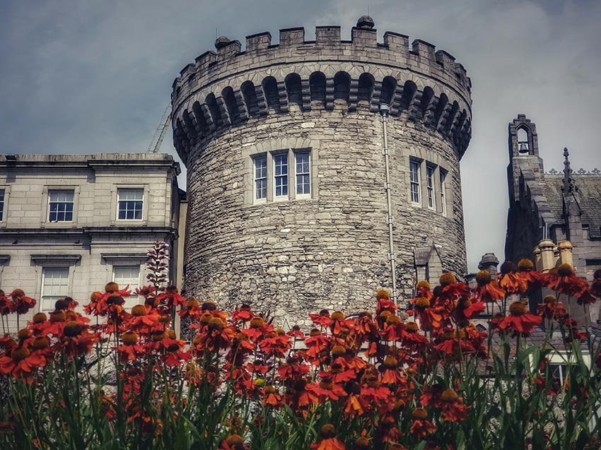Дублинский замок Ирландия 16