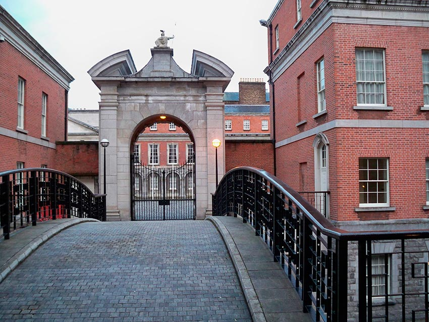 Дублинский замок Ирландия 26