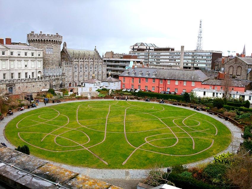 Дублинский замок Ирландия фото 5
