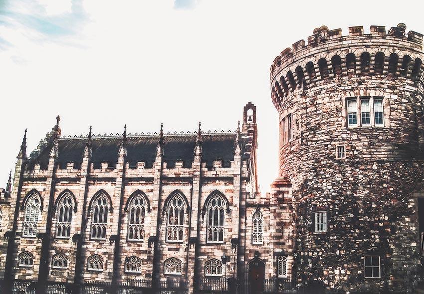 Дублинский замок Ирландия фото 17