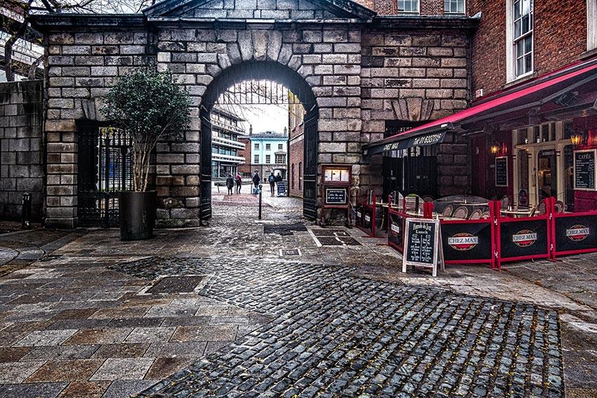 Дублинский замок вход